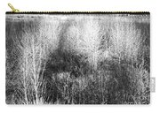 Winter Trees B And W 5 Carry-all Pouch