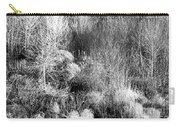 Winter Trees B And W 6 Carry-all Pouch