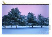 Winter Trees Carry-all Pouch by Brian Jannsen
