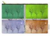 Winter Trees  Carry-all Pouch by David Dehner