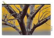 Winter Trees In Yellow Gray Mist 2 Carry-all Pouch