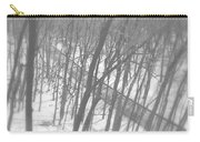 Winter Urban Wood Carry-all Pouch