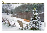 Winter Valley Chairs 2 Carry-all Pouch