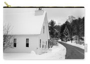 Winter Vermont Church Carry-all Pouch