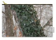 Winter Vine Carry-all Pouch