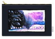 Winter Whimsey  Carry-all Pouch