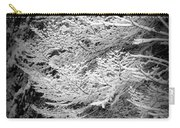 Snowy Boughs Carry-all Pouch