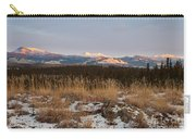 Winter Wilderness Landscape Yukon Territory Canada Carry-all Pouch