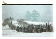 Winter Wonderland - Amazing Winter Landscape With Snow Falling Carry-all Pouch