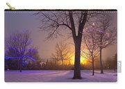 Winter Wonderland - Holiday Square - Casper Wyoming Carry-all Pouch