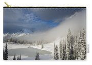 Winter Wonderland Carry-all Pouch by Mike  Dawson