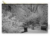 Winter Wonderland Carry-all Pouch by Sebastian Musial