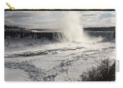 Winter Wonderland - Spectacular Niagara Falls Ice Buildup  Carry-all Pouch