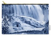 Winter Wonderland Waterfall Blues Carry-all Pouch