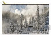 Winter Wonderland - Yellowstone National Park Carry-all Pouch