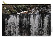 Winter Woodland Waterfall Carry-all Pouch