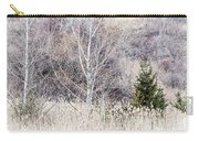 Winter Woodland With Subdued Colors Carry-all Pouch