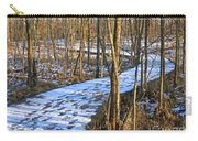 Winter Woods Walk Carry-all Pouch