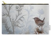Winter Wren Carry-all Pouch
