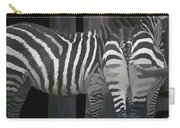 Winter Zebras Carry-all Pouch