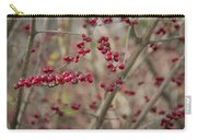Winterberries Squared Carry-all Pouch