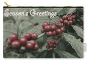 Winterberry Greetings Carry-all Pouch