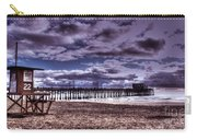 Winters Beach Solitude Carry-all Pouch