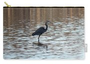 Winter's Blue Heron Carry-all Pouch