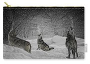 Winters Eve Howling Carry-all Pouch