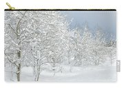 Winter's Glory - Grand Tetons Carry-all Pouch by Sandra Bronstein