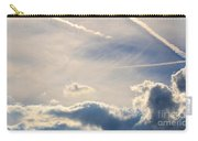 Winter's Streamlined Skies Carry-all Pouch