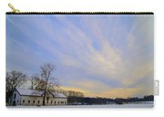 Wintertime At Widener Farms Carry-all Pouch
