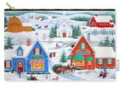 Wintertime In Sugarcreek Carry-all Pouch