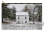 Wintertime In Valley Forge Carry-all Pouch by Bill Cannon