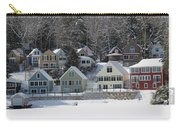 Wintery Alton Bay Nh Carry-all Pouch