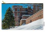 Wintery Lambert Castle Carry-all Pouch