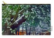 Wintry  Snowy Trees Carry-all Pouch