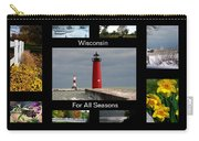 Wisconsin For All Seasons Carry-all Pouch