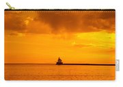 Wisconsin Point Lighthouse Sunrise 1 A Carry-all Pouch