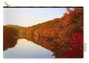 Wisconsin River Sunrise Carry-all Pouch