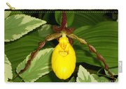 Wisconsin Yellow Lady Slipper Carry-all Pouch