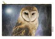 Wise Old Owl - Image Art By Jordan Blackstone Carry-all Pouch by Jordan Blackstone