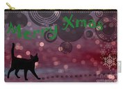Wishing You All A Purrfect Xmas... Carry-all Pouch