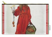 Wishing You Health Wealth And Happiness Greeting Card Carry-all Pouch