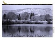 Wishing You Peace - Greeting Card Carry-all Pouch