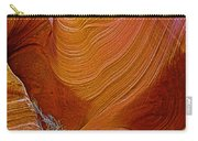Wispy Relic In Lower Antelope Canyon In Lake Powell Navajo Tribal Park-arizona   Carry-all Pouch