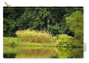 Wispy Wild Grass Reflections Carry-all Pouch