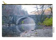 Wissahickon Creek And Valley Green Bridge Carry-all Pouch