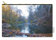 Wissahickon Creek - Fall In Philadelphia Carry-all Pouch