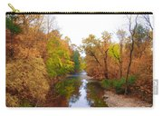Wissahickon Creek Near Chestnut Hill College In Autumn Carry-all Pouch
